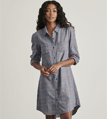 Plaid Anna Shirt Dress