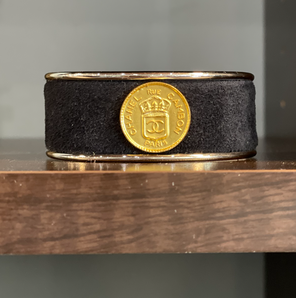Chanel Coin W/ Navy Petite Cuff