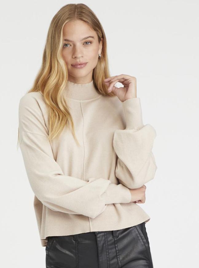 Cream Uptown Sweater
