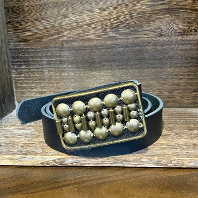 Bronze Beaded Belt