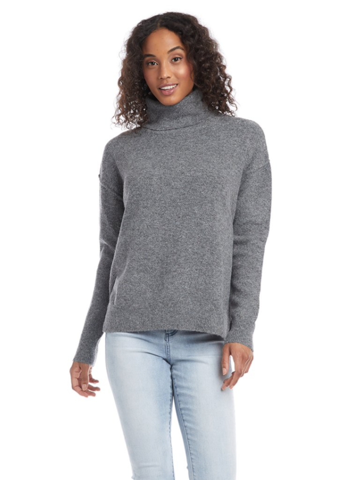 Dk. Grey Turtleneck Sweater