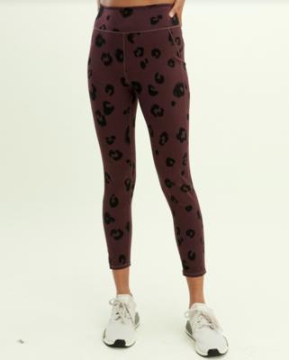 Cherry Leopard Legging