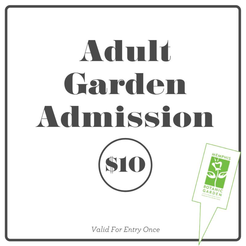Garden Admission- Adult