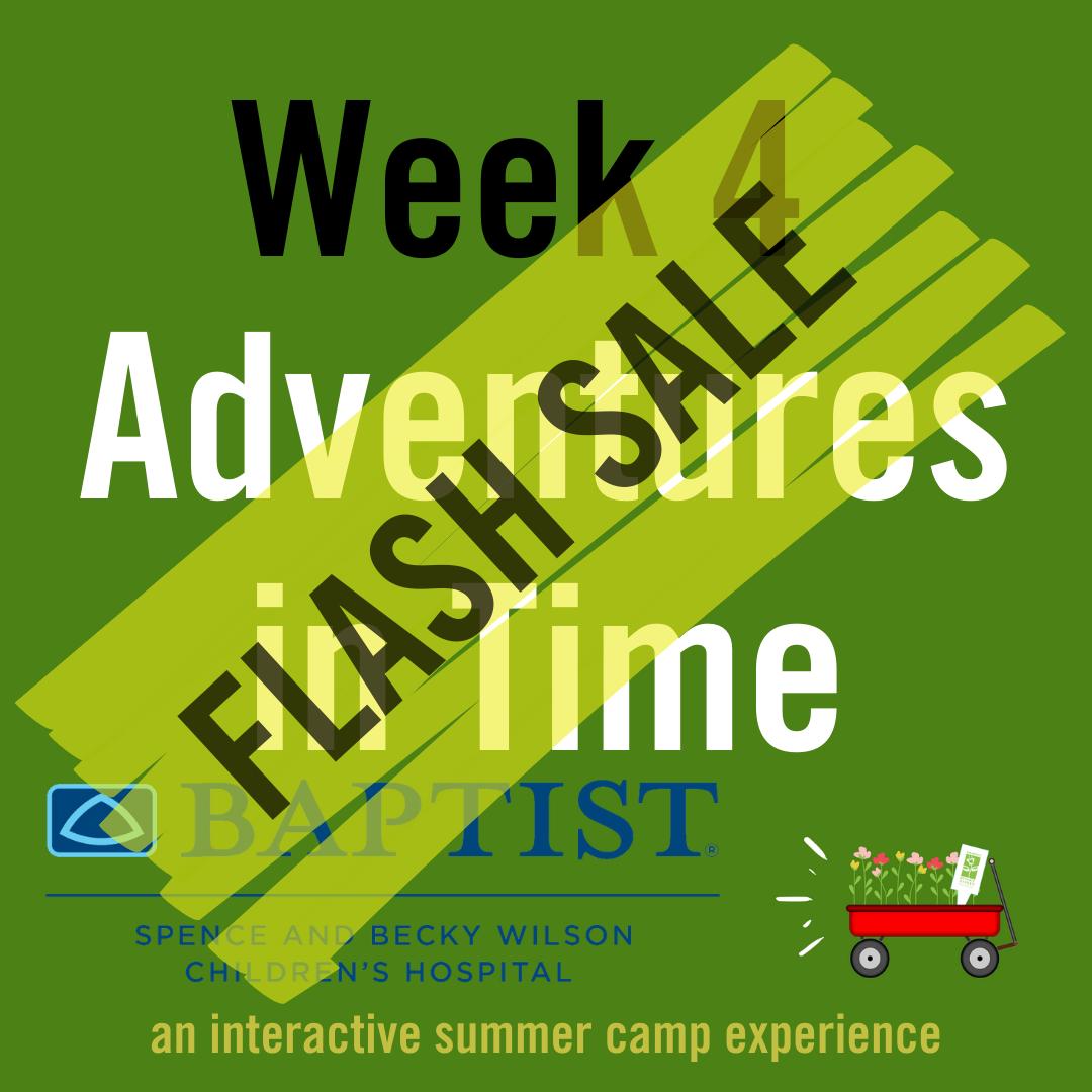 Adventures in Time (Week 4)