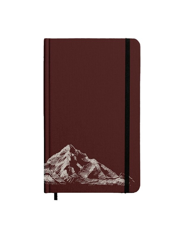 MAROON TRAVELER JOURNAL 100% RECYCLED PAPER