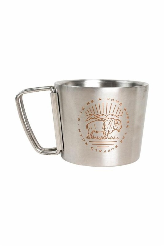 ROAM 12 OZ STAINLESS STEEL COMPASS CUP