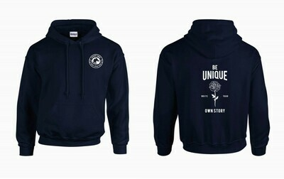 COYOTE INDIE BOOKS PULLOVER - BE UNIQUE - NAVY
