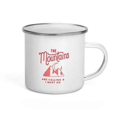 John Muir - Enamel Mug