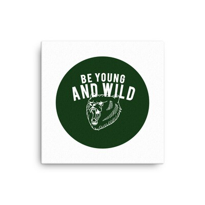 Young & Wild - Canvas