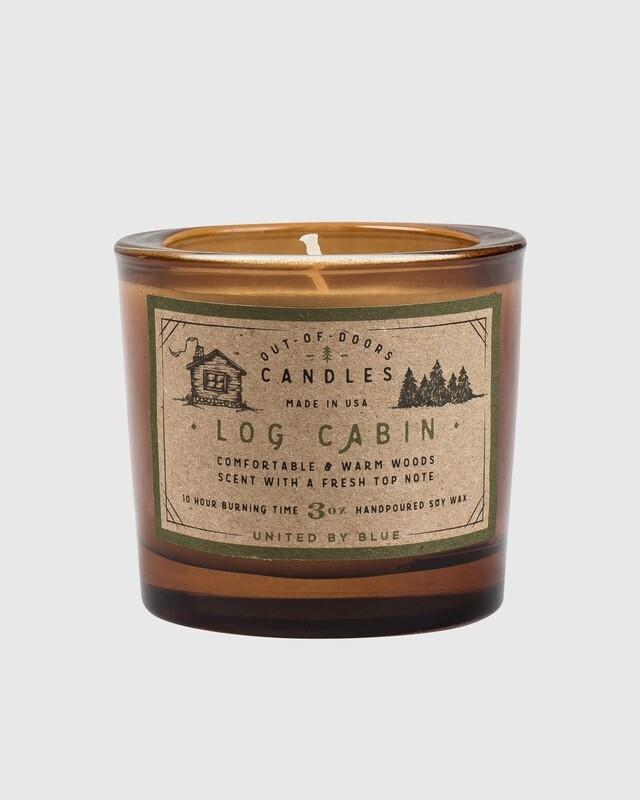 Log Cabin – 3 Oz Candle