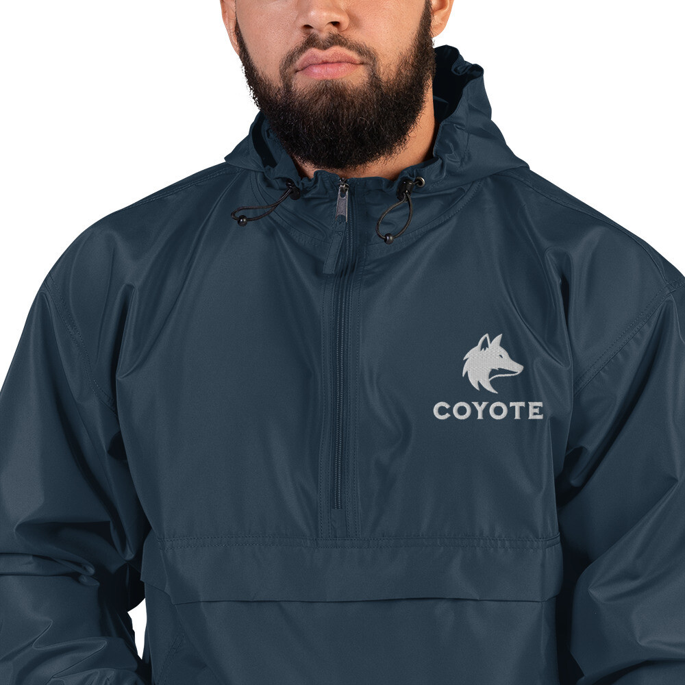 Coyote x Champion – Embroidered Packable Jacket