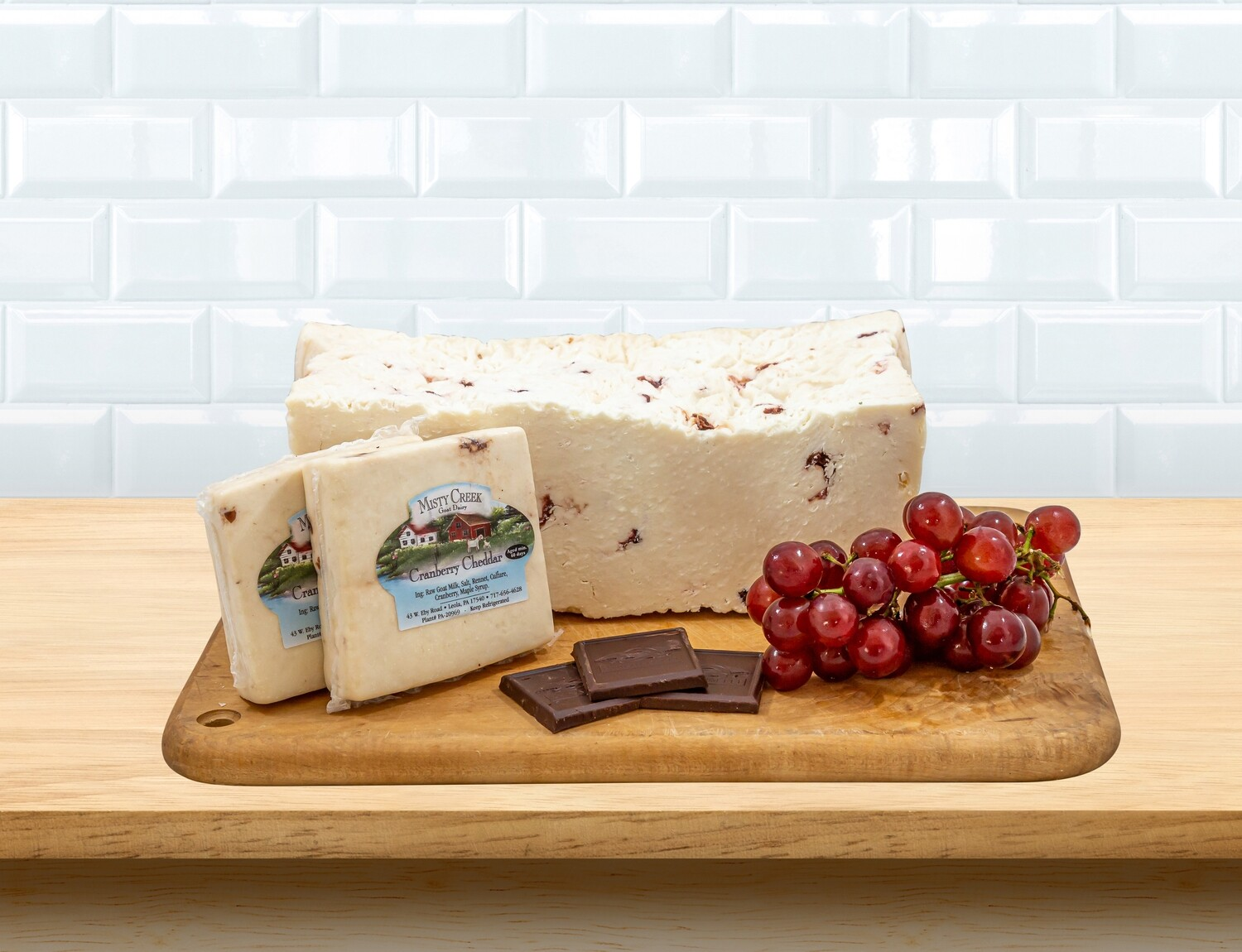 Cranberry Cheddar from Sunset Farm