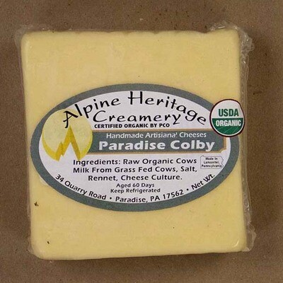Organic Paradise Colby from Alpine Heritage