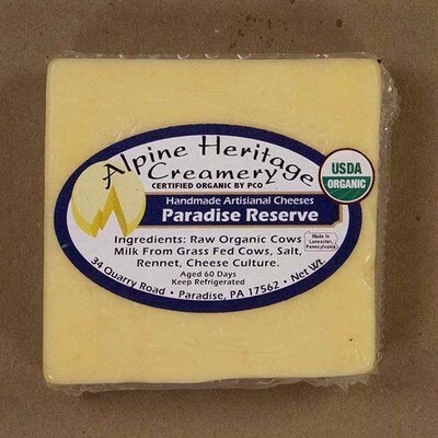 Organic Paradise Reserve from Alpine Heritage