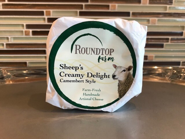 Sheep's Creamy Delight Camembert from Roundtop Farm