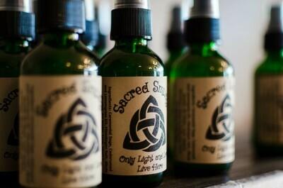 Sacred Smudge Spray 2 oz