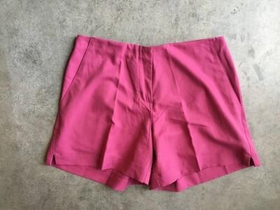 496 adidas raspberry shorts wmns sz 6 NEW retail $60 051920