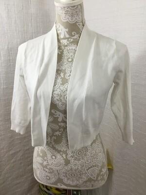 725 verve ami white cardigan womens size small 080720