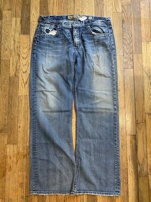 1190 BKE denim jeans 36W 32L mens 082220