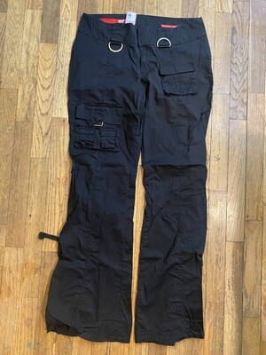 326 Guess Jeans size 31 black pants womens 082220