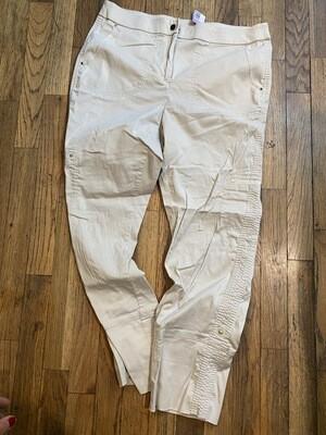 326 chicos size 10 tan pants womens 082220