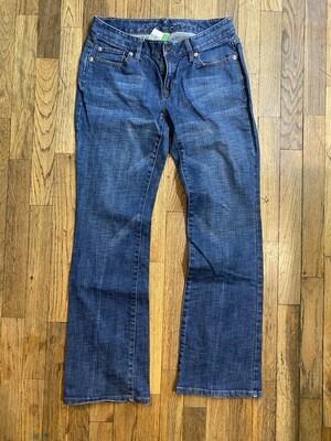 1282 LOFT jeans size 2 curvy boot style