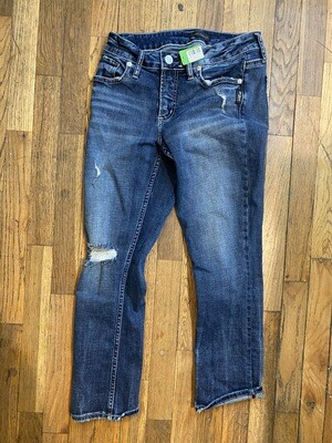 1282 Silver jeans size 4 womens