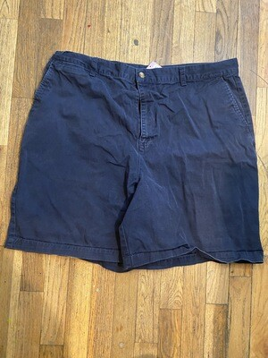 577 navy blue census mens shorts size 40 090120