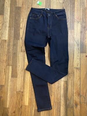 1244 ci sono dark wash womens skinny jeans size 7