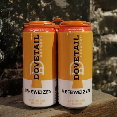 Dovetail Hefeweizen 16 FL. OZ. 4PK Cans