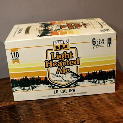 Bell's Light Hearted Ale 12 FL. OZ. 6PK Cans