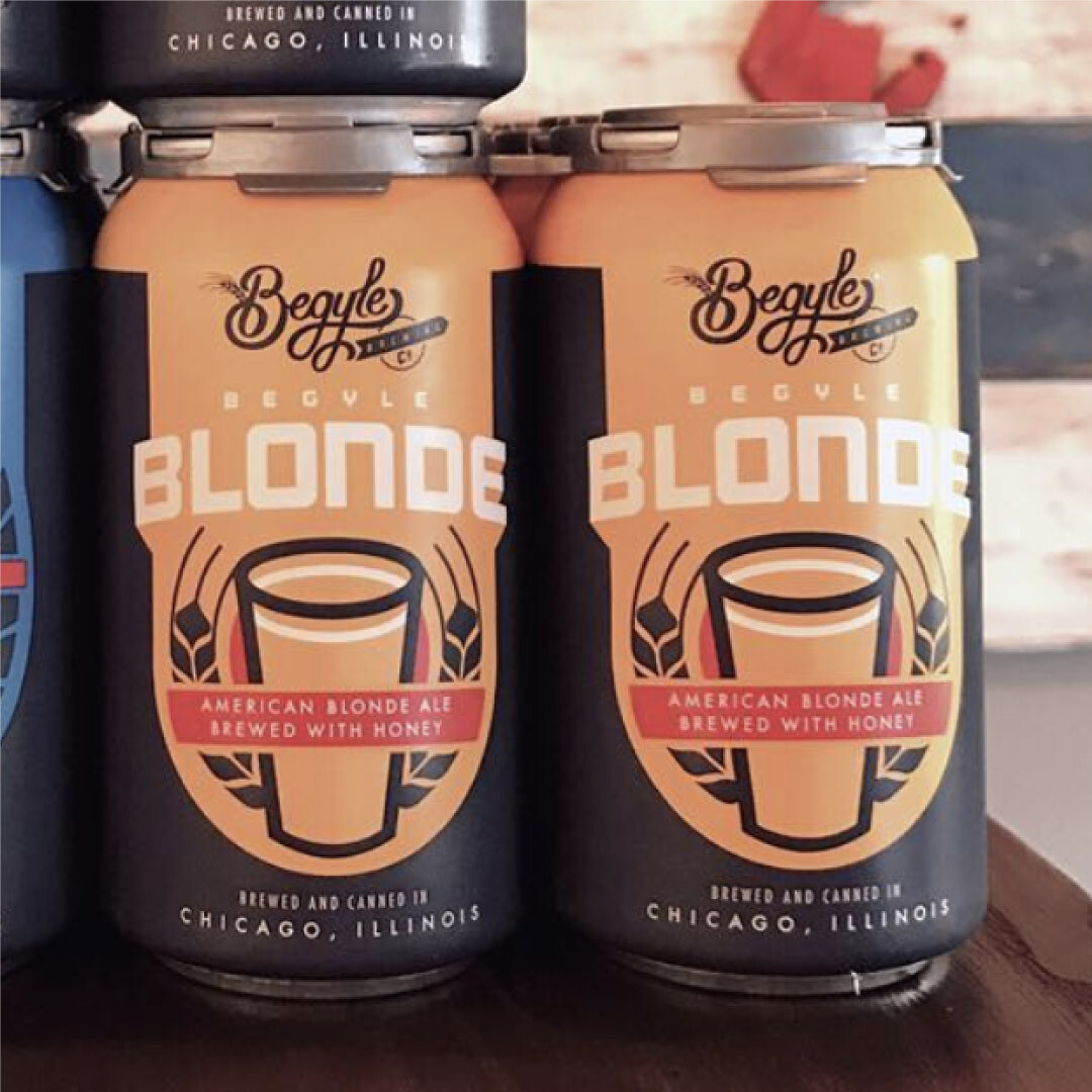 Begyle Blonde Ale 12 FL. OZ. 6PK Cans