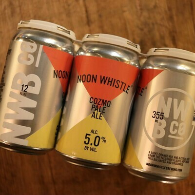 Noon Whistle Cozmo Pale Ale 12 FL. OZ. 6PK Cans
