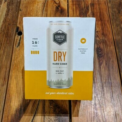 Seattle Cider Dry 16 FL. OZ. 4PK Cans