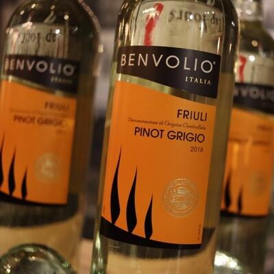 Benvolio Pinot Grigio Italy 750ml.