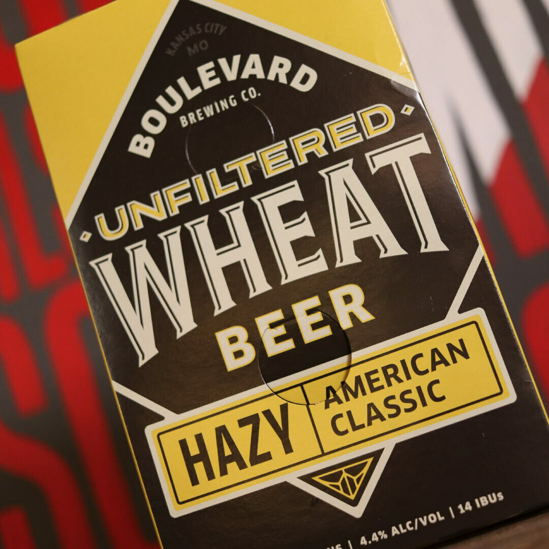 Boulevard Unfiltered Wheat 12 FL. OZ. 6PK Cans