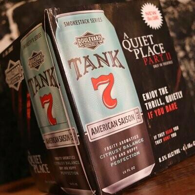 Boulevard Tank 7 Farmhouse Ale 16 FL. OZ. 4PK Cans