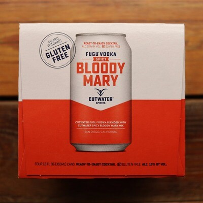 Cutwater Bloody Mary SPICY 12 FL. OZ. 4PK Cans
