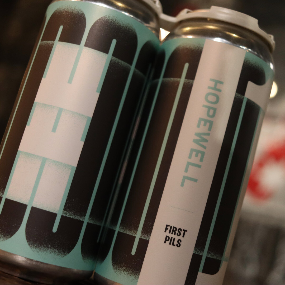 Hopewell First Pils Lager 16 FL. OZ. 4PK Cans