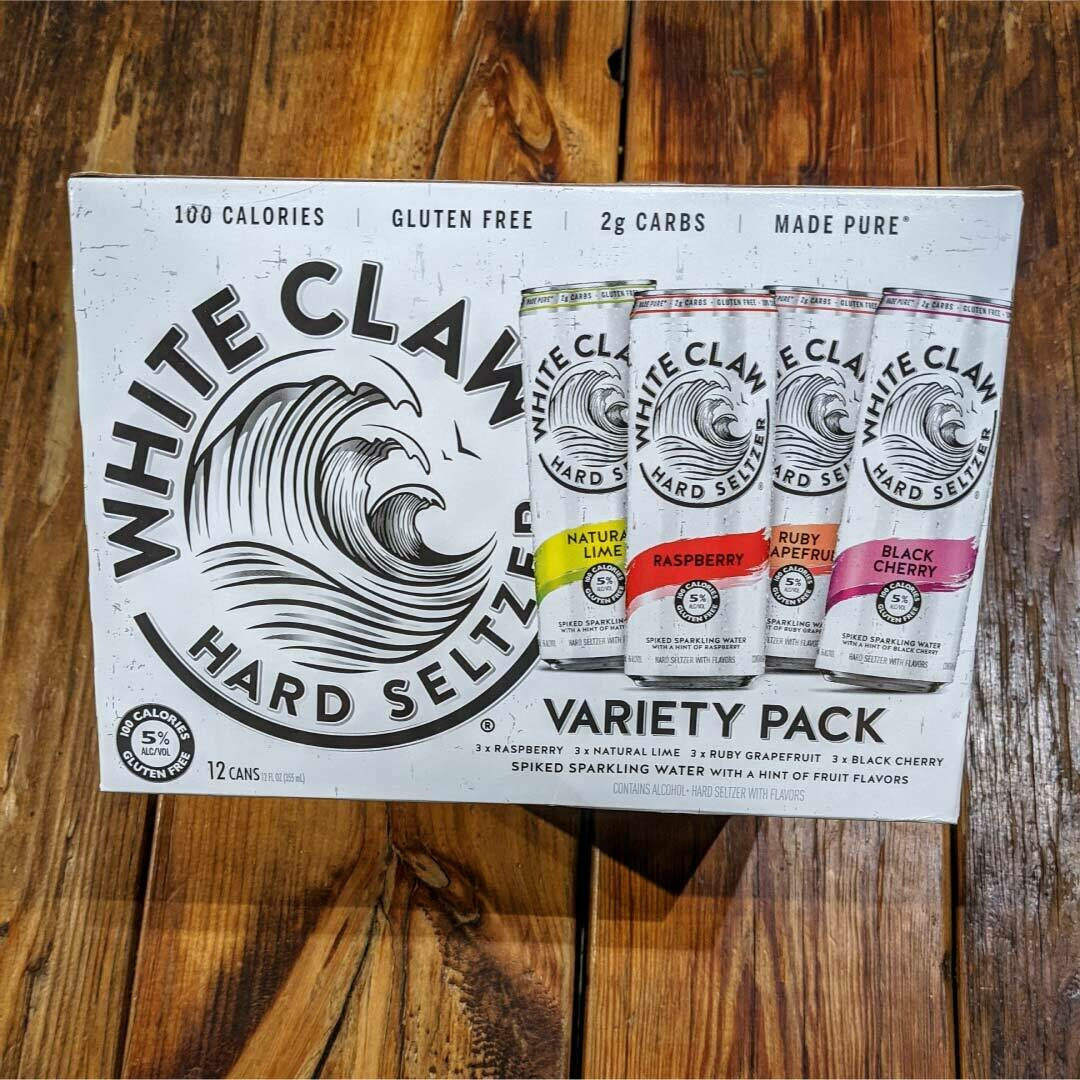 White Claw Variety Pack Flavor Collection No.1 12 FL. OZ. 12PK Cans