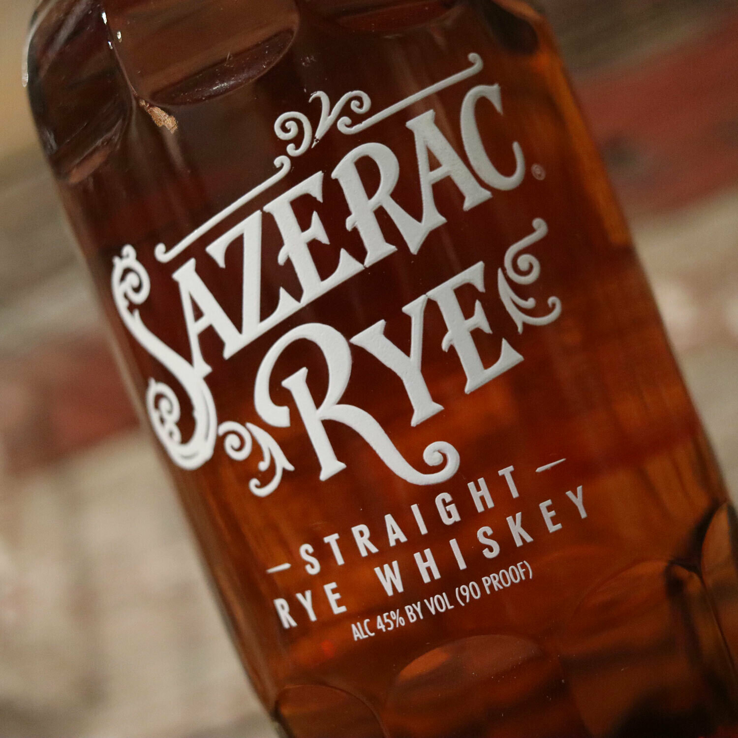 Sazerac Straight Rye Whiskey 750ml.