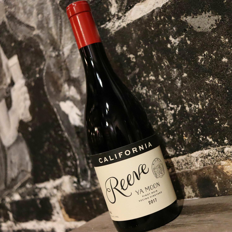 Reeve Ya Moon Pinot Noir Sonoma County California 750ml.
