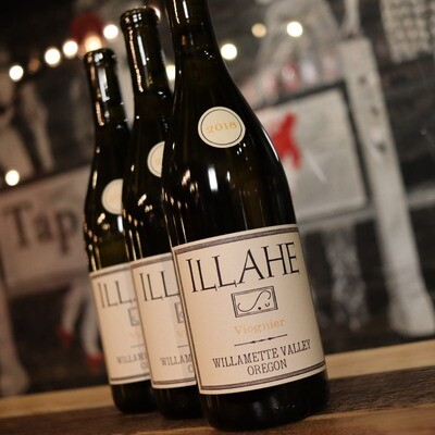 Illahe Viognier Willamette Valley Oregon 750ml.