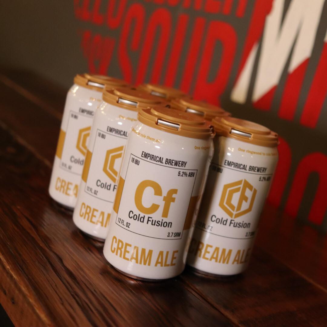 Empirical Cold Fusion Cream Ale 12 FL. OZ. 6PK Cans
