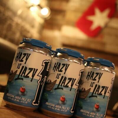 Haymarket Hazy Is Lazy IPA 12 FL. OZ. 6PK Cans