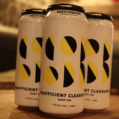 Sketchbook Insufficient Clearance NEIPA 16 FL. OZ. 4PK Cans