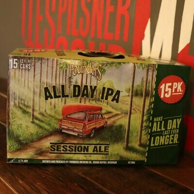 Founders All Day IPA 12 FL. OZ. 15PK Cans
