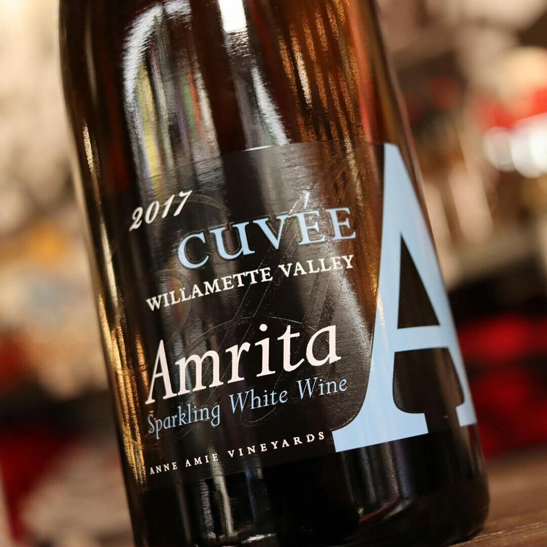 Anne Amie Amrita Sparkling White Wine Willamette Valley Oregon 750ml