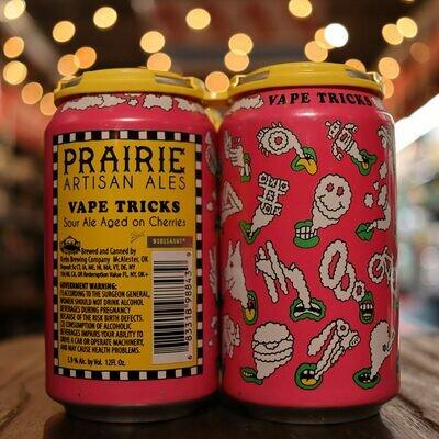 Prairie Vape Tricks Cherry Sour 12 FL. OZ. 4PK Cans