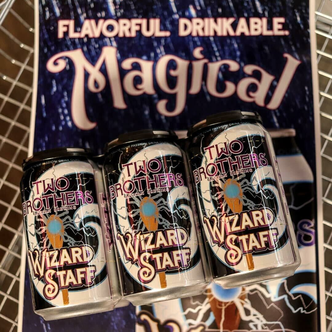Two Brothers Wizard Staff IPA 12 FL. OZ. 6PK Cans